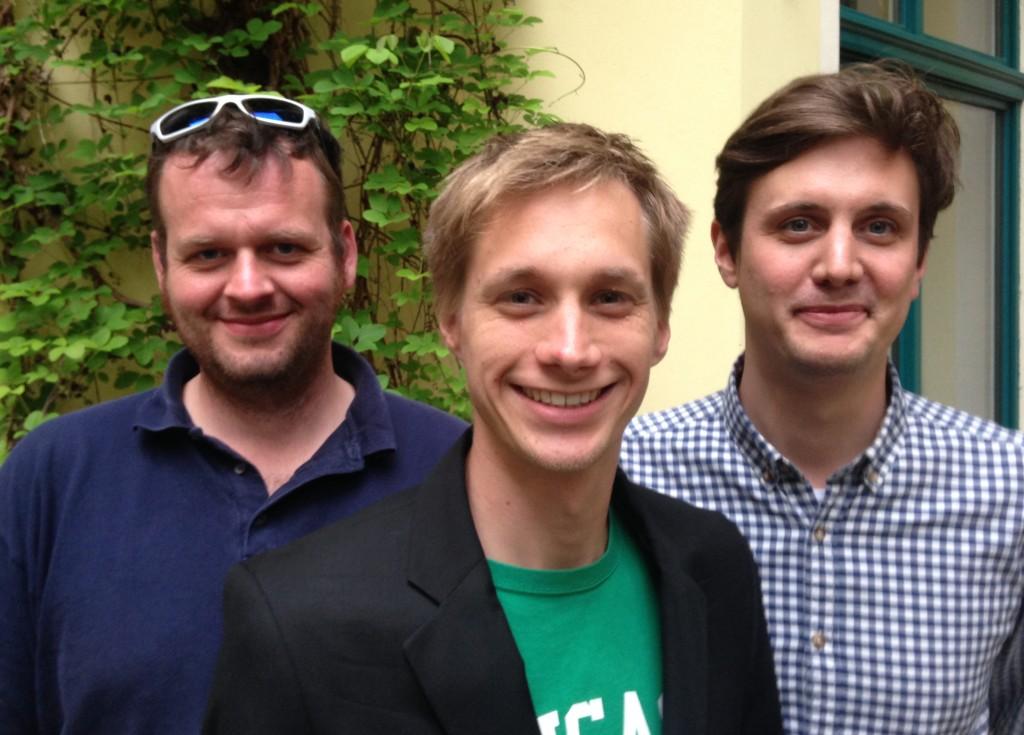 Geschäftsführung (vl.n.r.): Bernhard Bystron, Daniel Lentfer und Yann Werner Prell
